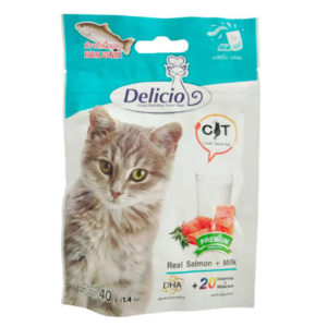 delicio treats real salmonMilk 40gm sbpetshop