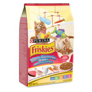 friskies kitten discovaries 1.1kg sbpetshop