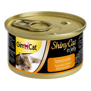 gim cat shinycat tuna with chicken 70gm sbpetshop