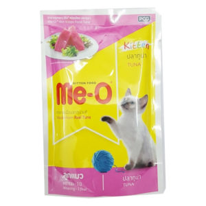 me o kitten pouch in tuna 80gm sbpetshop