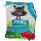 paws clumping cat litter rose 4.5kg sbpetshop