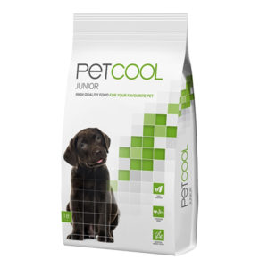 pet cool junior delicious meal for puppys with chicken and rice 3kg sbpetshop