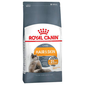 royal canin hair skin adult dry food 400gm sbpetshop