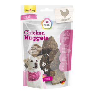 gim dog chicken nugget 175gm sbpetshop