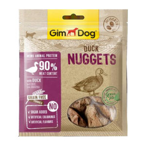 gim dog duck nugget 55gm sbpetshop