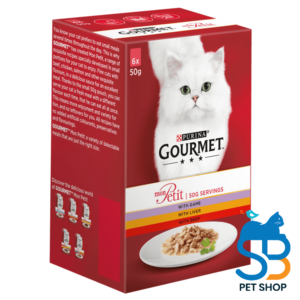 GOURMET® MON PETIT GAME, LIVER AND BEEF