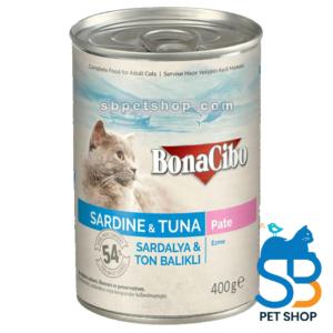 Bonacibo Adult Sardine & Tuna Pate