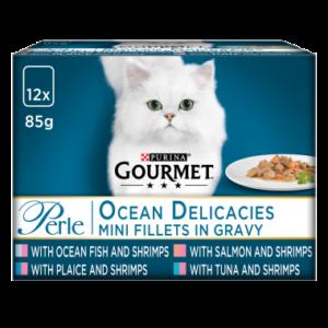 GOURMET® Perle Ocean Delicacies in Gravy Wet Cat Food